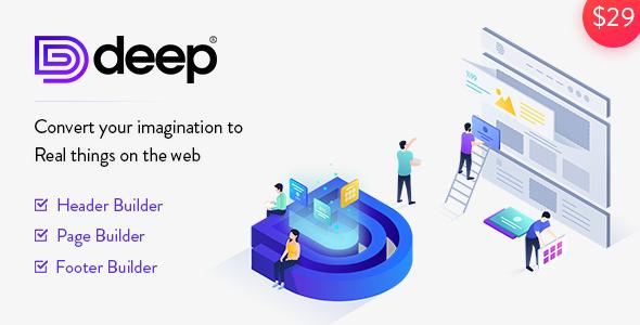 Deep v4.3.7 – Creative Multi-Purpose WordPress Theme