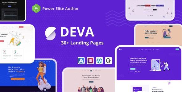 Deva v1.0.5 – 30+ Landing Pages