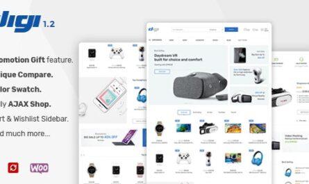 Digi 1.6.4 – Electronics Store WooCommerce Theme
