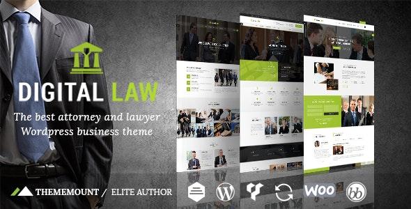 Digital Law v12.2 – Attorney & Legal Advisor WordPress Theme