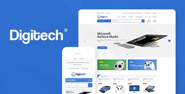 Digitech v1.1.4 – Technology Theme for WooCommerce