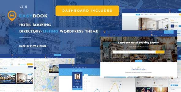 EasyBook v1.3.6 – Directory & Listing WordPress Theme