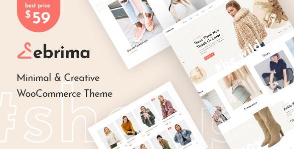 Ebrima v1.1.10 – Minimal & Creative WooCommerce WP Theme