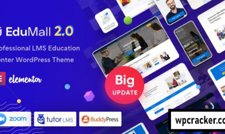 EduMall Nulled v2.8.10 - Professional LMS Education Center WordPress Theme - WordPress Theme, Plugins, PHP Script, HTML Templates