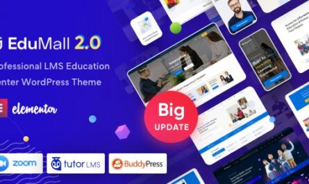 EduMall v2.6.0 – Professional LMS Education Center WordPress Theme