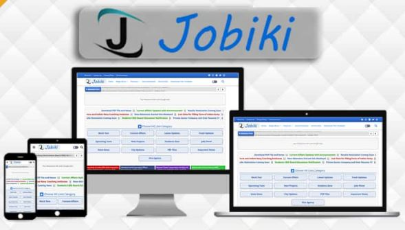 Jobiki - Education & Job Blogger Template