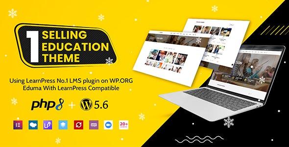 Eduma 4.4.8 Nulled – Education WordPress Theme - WordPress Theme,