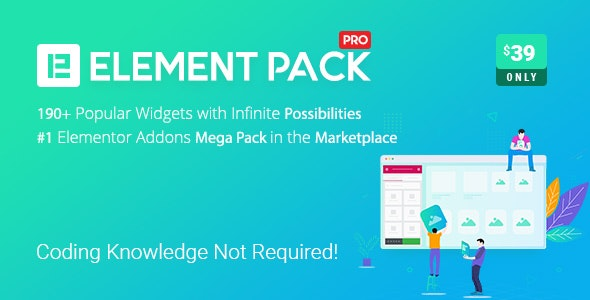 Element Pack 5.9.4 Nulled – Addon for Elementor Page Builder...