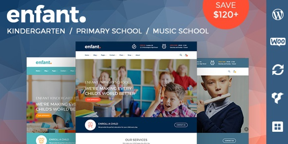 Enfant v3.1.7 – School and Kindergarten WordPress Theme
