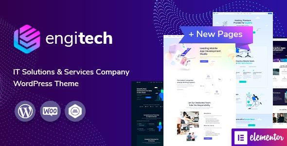 Engitech v1.3 – IT Solutions & Services WordPress Theme