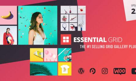 Essential Grid 3.0.12 – Gallery WordPress Plugin