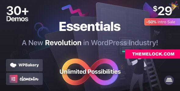 Essentials v1.2.9 – Multipurpose WordPress Theme