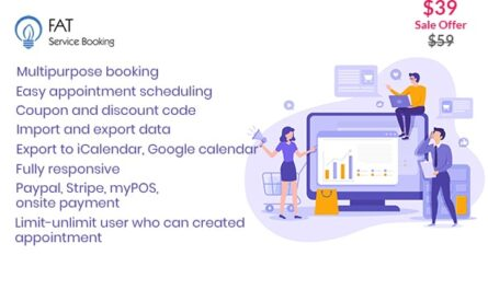 Fat Services Booking 4.1 – Automated Booking and Online Scheduling -