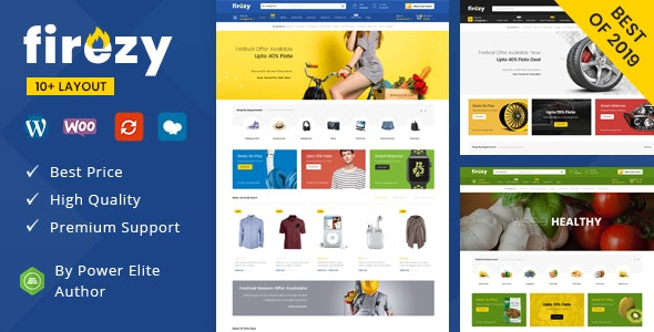 Firezy (07 July 21) Nulled – Multipurpose WooCommerce Theme - WordPress Theme, Plugins, PHP Script, HTML Templates