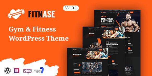 Fitnase - Gym And Fitness WordPress Theme
