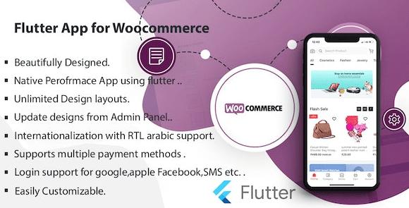 Flutter Multivendor Mobile app for WooCommerce v2.1