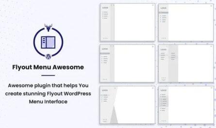 Flyout Menu Awesome - Vertical Slide Menu WordPress Plugin