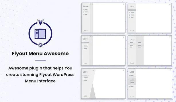 Flyout Menu Awesome v1.0.0 - Vertical Slide Menu WordPress Plugin