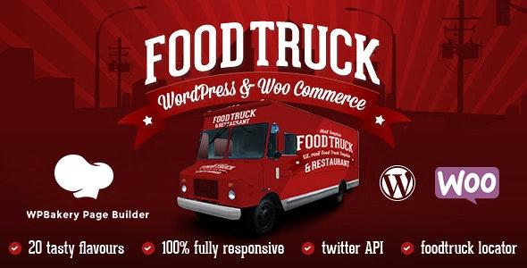 Food Truck & Restaurant 20 Styles v5.9 – WP Theme