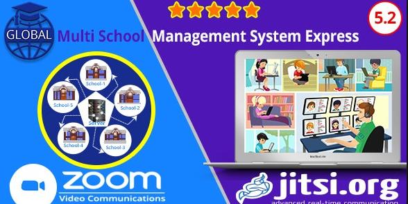 Global v5.2 - Multi School Management System Express Nulled