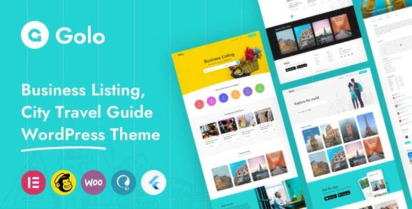 Golo v1.4.3 – City Guide WordPress Theme