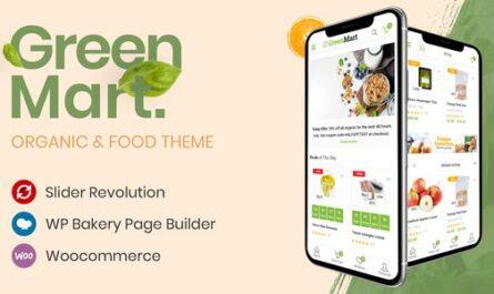 GreenMart v3.0.10 – Organic & Food WooCommerce WordPress Theme
