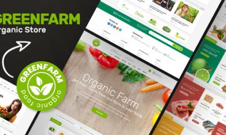 Greenfarm v1.1.2 – Organic Theme for WooCommerce