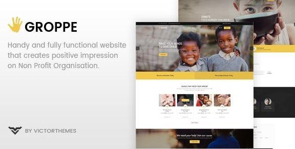 Groppe v2.7 – Nonprofit WordPress Theme