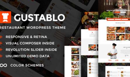 Gustablo v1.12 – Restaurant & Cafe Responsive Theme