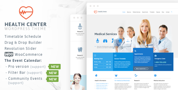 Health Medical Center v25.0 – Responsive Theme