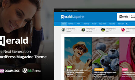 Herald 2.5 – News Portal & Magazine WordPress Theme - WordPress Theme,