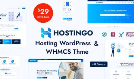 Hostingo v1.0 – Hosting WordPress & WHMCS Theme