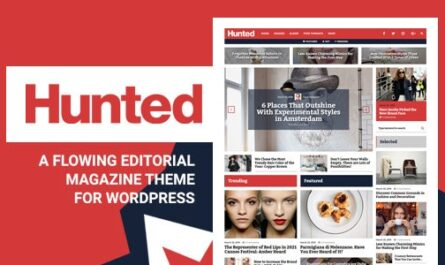 Hunted v8.0.1 – A Flowing Editorial Magazine Theme