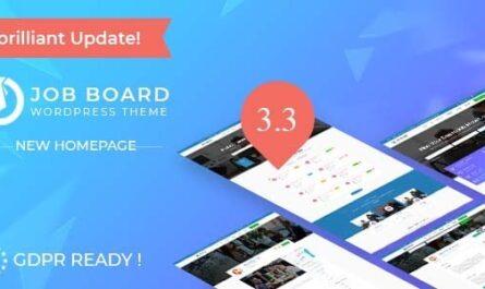 InJob v3.4.8 – Job Board WordPress Theme