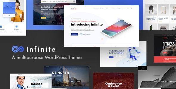 Infinite v3.4.0 – Multipurpose WordPress Theme