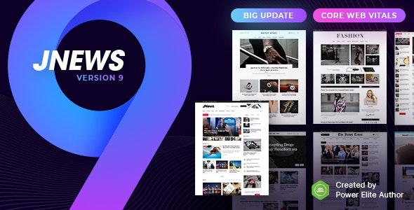 JNews Nulled 9.0.4 Free Download– WordPress Newspaper Magazine