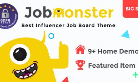 Jobmonster v4.6.7.4 – Job Board WordPress Theme