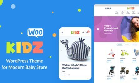 KIDZ 4.9 – Baby Shop & Kids Store WordPress WooCommerce Theme