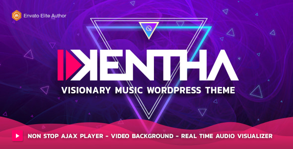 Kentha v3.2.0 – Non-Stop Music WordPress Theme with Ajax