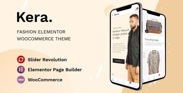 Kera v1.1.5 – Fashion Elementor WooCommerce Theme