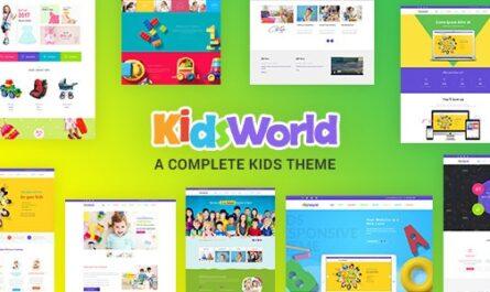 Kids Heaven v2.0 – Children WordPress Theme