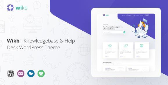 Knowledgebase & Help Desk WP Theme v1.2