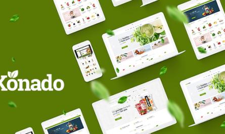 Konado v1.0.9 – Organic Theme for WooCommerce