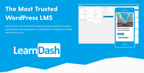 LearnDash 3.4.2 Free Download + Addons Updated – WordPress LMS Plugin