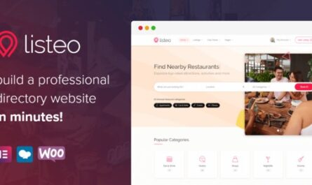 Listeo v1.6.06 – Directory & Listings With Booking