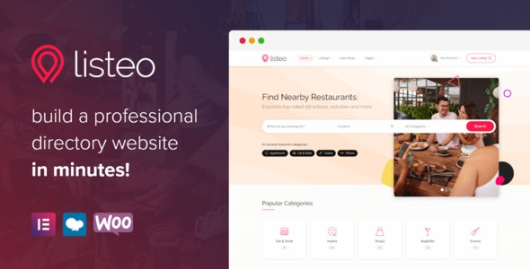 Listeo v1.6.13 – Directory & Listings With Booking