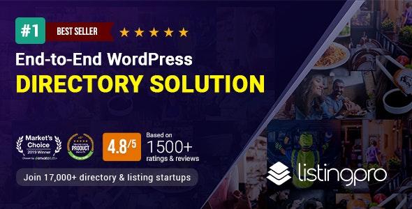 ListingPro v2.6.4 – WordPress Directory Theme