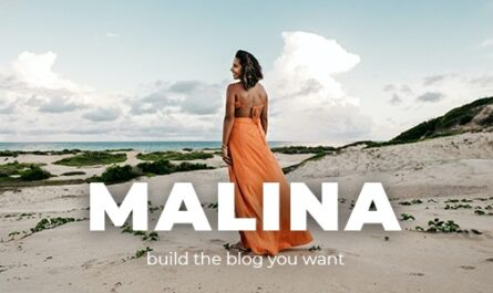 Malina v2.2.0 – Personal WordPress Blog Theme