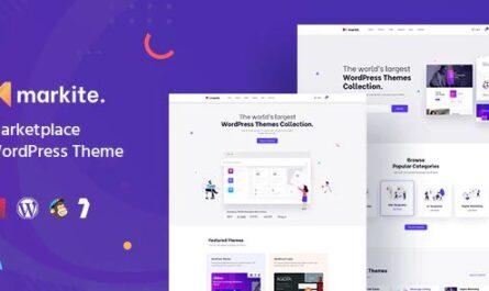 Markite - Digital Marketplace WordPress Theme