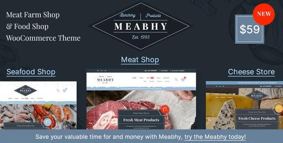 Meabhy - Meat Farm & Food Shop WordPress Theme